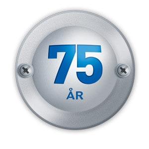 KROHNE INOR firar 75 år logo