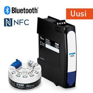 IPAQ 330 lähettimen toiminnallisuutta laajennetaan tarjoamaan myös langatonta viestintää NFC®- ja Bluetooth®-yhteyksien kautta.